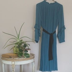Zara dark teal jumpsuit sz m